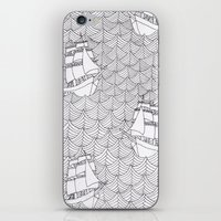 Ships iPhone & iPod Skin