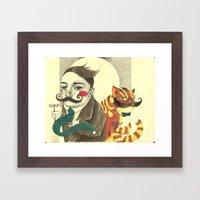 Two Fine Gentlemen Framed Art Print
