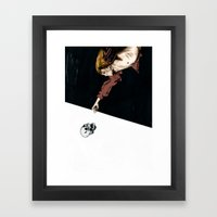 Grow Old, Die Alone Framed Art Print