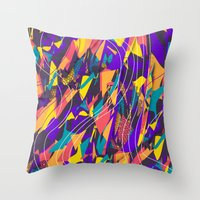 Future Shapes Throw Pillow