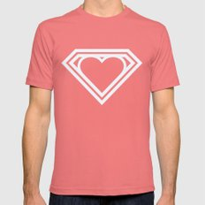 Superlove Mens Fitted Tee Pomegranate SMALL