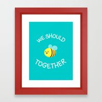 A Bug's Love Life Framed Art Print