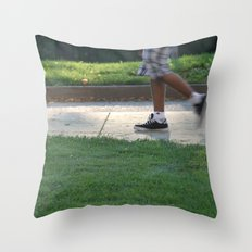 Late Summer Sun Throw Pillow