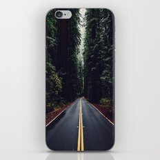 The woods have eyes iPhone & iPod Skin