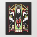 Spirited Deco Canvas Print