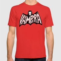 Vampira! Mens Fitted Tee Red SMALL