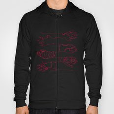 Classic Horror Hands (Red Line) Hoody