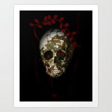 skull#01 Art Print