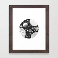 SPACE & SPORT Framed Art Print