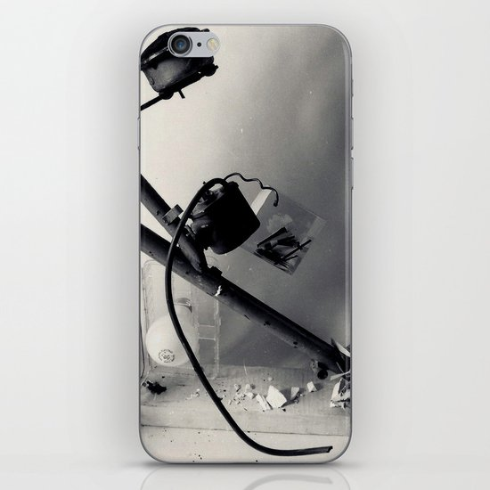 found objects sculpture iPhone & iPod Skin