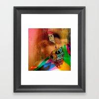WheresTheCaja Framed Art Print