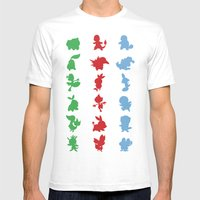 Starters Mens Fitted Tee White SMALL