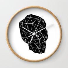 Space Skull  Wall Clock