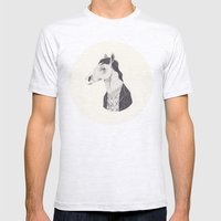 BoJack  Mens Fitted Tee Ash Grey SMALL