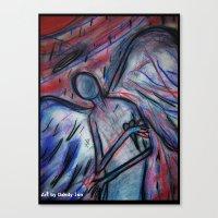 Trippin' Angelic Canvas Print