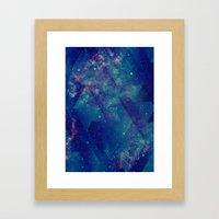 Static Waves Framed Art Print