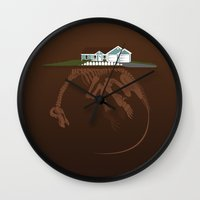 Picket. Wall Clock