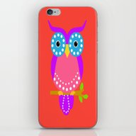 iPhone & iPod Skin featuring Owl D by Vitta