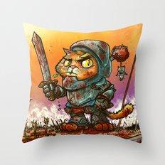 Gaticcus Throw Pillow