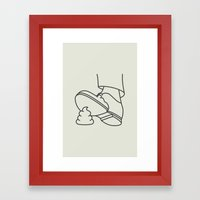 Nancy Kerrigan Framed Art Print