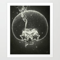 Mr. Stardust Art Print