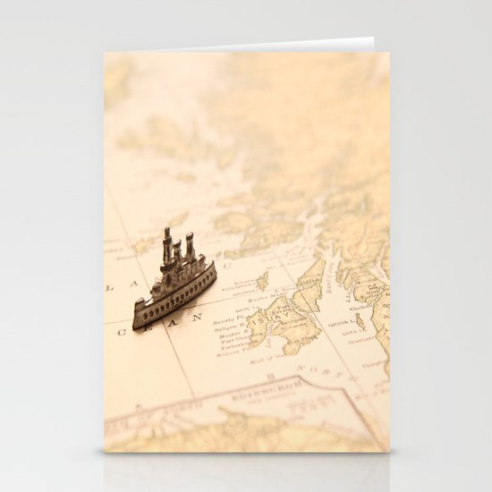 Travel Dreams Stationery Card