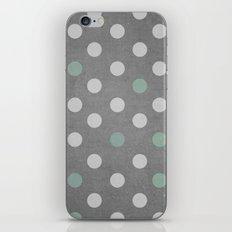 Concrete & PolkaDots iPhone & iPod Skin