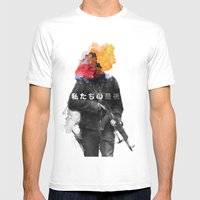 Unkown Soldier Mens Fitted Tee White SMALL