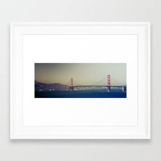 Golden Gate Bridge II Framed Art Print