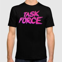 Task Force Mens Fitted Tee Black SMALL