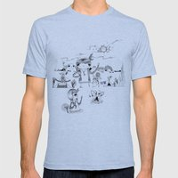 Dancing with me :) Mens Fitted Tee Athletic Blue SMALL