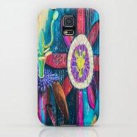 Galaxy S5 Cases featuring Passion by Brandi Pratt