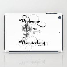 Alice In Wonderland Welcome To Wonderland iPad Case
