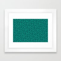 Control Your Game - Tradewinds Turquoise Framed Art Print