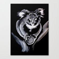 Florence the Koala Joey, South Australia Canvas Print
