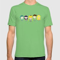 Little sailors Mens Fitted Tee Grass SMALL
