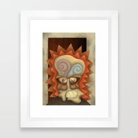 Harlan finds himself Framed Art Print