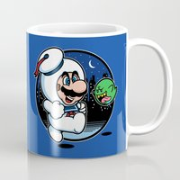 Super Marshmallow Bros. Mug
