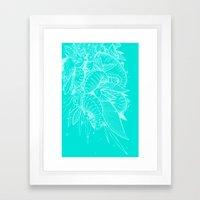 Feathered Nautilus Framed Art Print