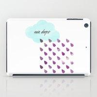 Rain drops iPad Case