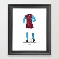 Aston Villa 1981/82 - Eu… Framed Art Print