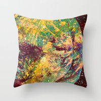 Out Of Orbit  Throw Pillow