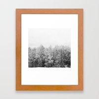 Ansels Trees Framed Art Print