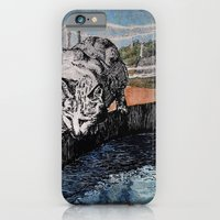 iPhone & iPod Case featuring Barn Cat by Leanna Rosengren