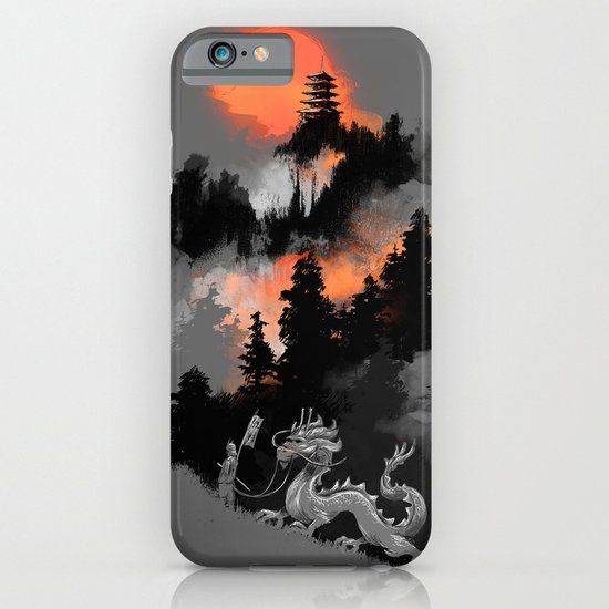 A samurai's life iPhone & iPod Case