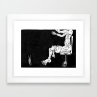 Los Cucharoachos Framed Art Print