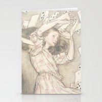 Alice In Wonderland Card… Stationery Cards