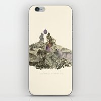 Lima. Bear and maiden. iPhone & iPod Skin