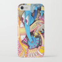 ice cream iPhone & iPod Cases featuring Ice Cream by Yuliya