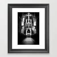 Cathedral In England Framed Art Print